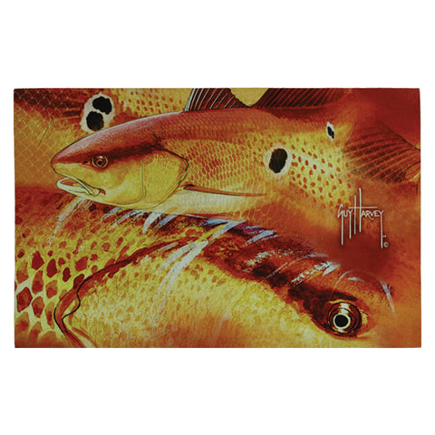 Guy Harvey Redfish Door Mat