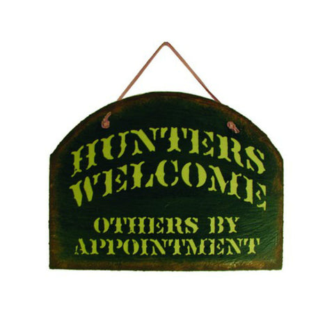 Hunters Welcome Slate