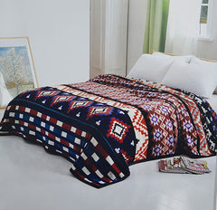 Southwest Native Print Solaron Blanket