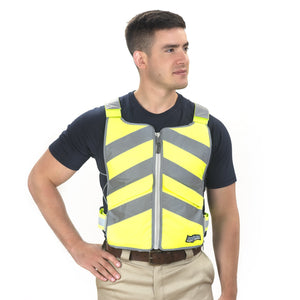 FlexiFreeze Professional Series Ice Vest - Hi-Vis Yellow