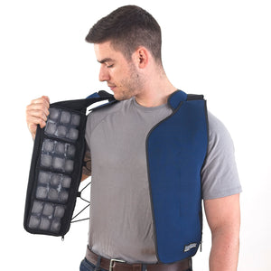 FlexiFreeze Ice Vest - Velcro Front