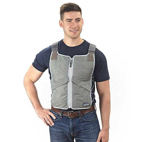 FlexiFreeze Professional Series Ice Vest - Charcoal