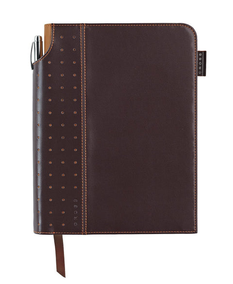 Brown Medium Signature Journal with Pen