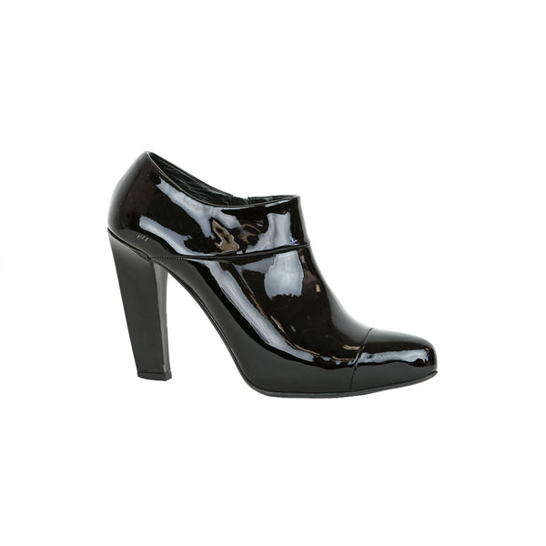 Prada | Black Patent Leather Booties