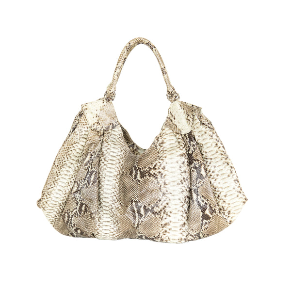 Large Python Hobo Bag