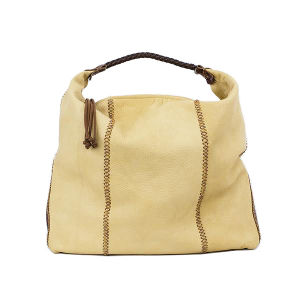 Falchi | Beige Leather Tote