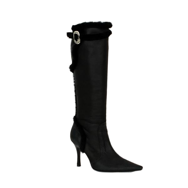 Rene Caovilla | Leather Knee High Boots