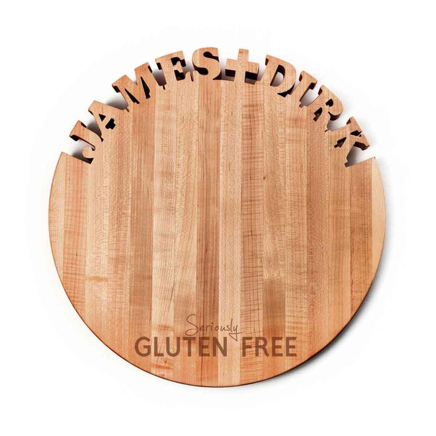 Round Custom Board ~ Seriously Gluten Free