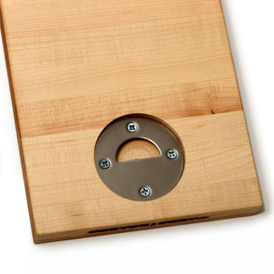 NOM NOM - CUTTING BOARD WITH BOTTLE OPENER - 1