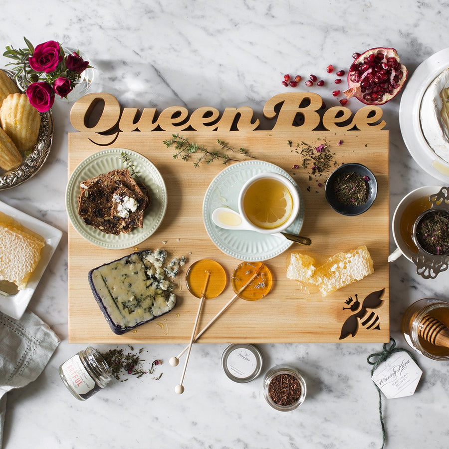 Serving Board ~ Live Like A Queen Bee