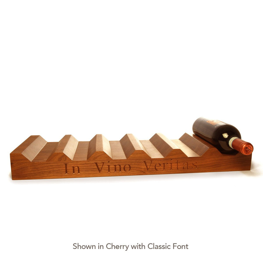 Wood Wine Rack ~ In Vino Veritas