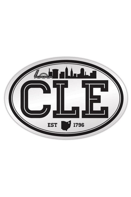 CLE College - Brown/Orange - Sticker