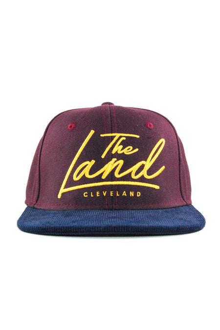 CLE Logo Relaxed Fit Dad Hat - Black