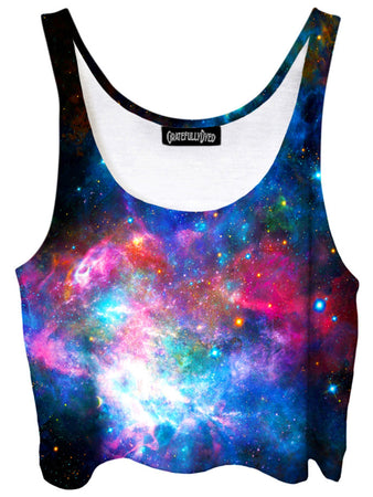 Gratefully Dyed - Dazzling Dimensions Crop Top