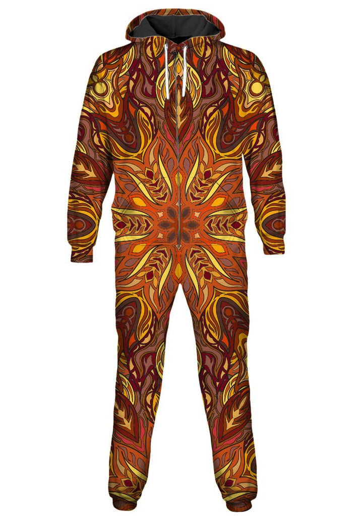 Gratefully Dyed Forest Fire Onesie - iEDM
