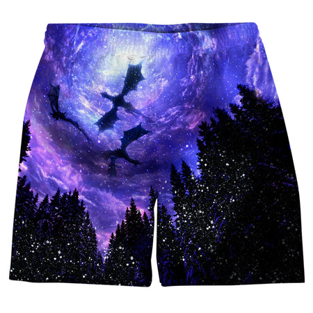 On Cue Apparel - Game Of Thrones Dragons Weekend Shorts
