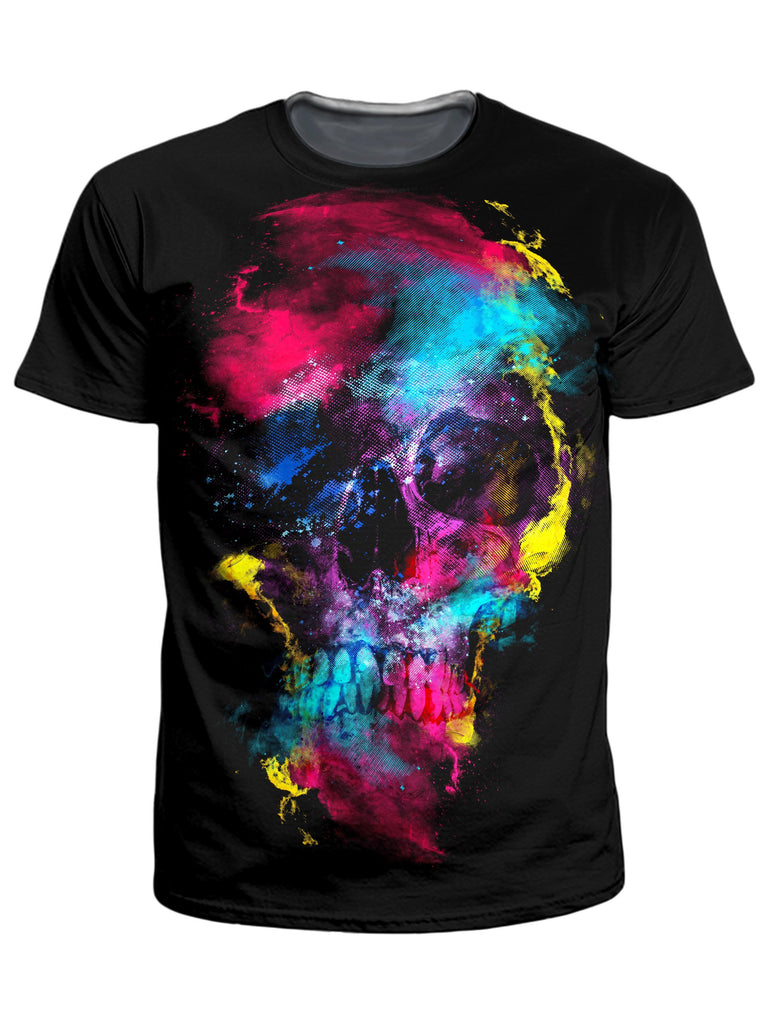 Riza Peker Skull 49 T-Shirt and Shorts Combo