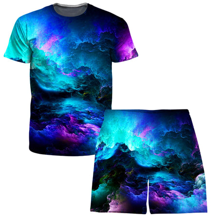 Noctum X Truth - Dream Waves T-Shirt and Shorts Combo