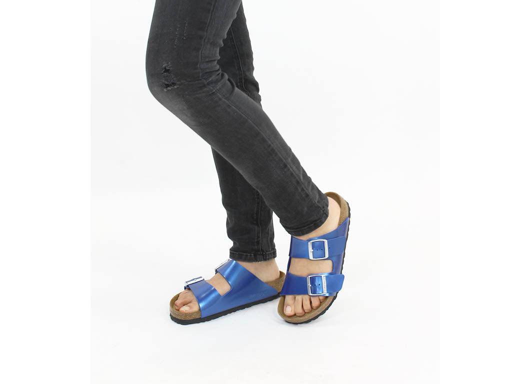 Birkenstock Sandals Arizona Electric Blue