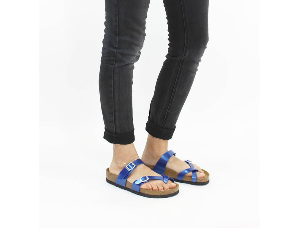 Birkenstock Sandals Mayari Electric Blue