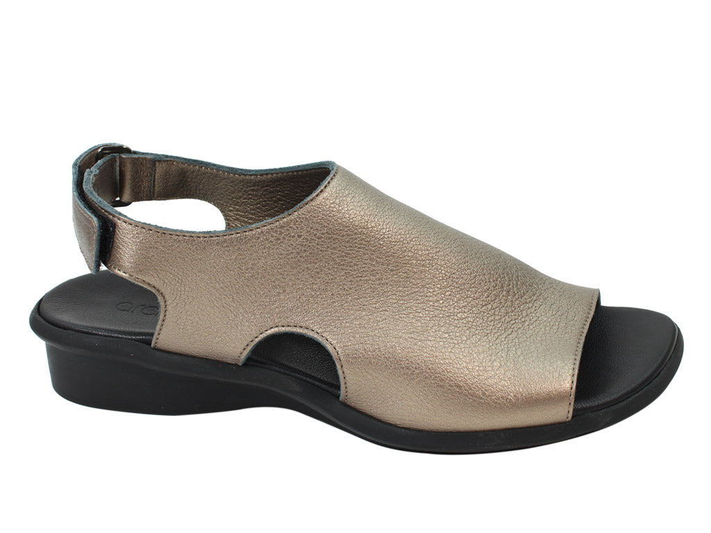 Arche sandals Saikho Moon/Black right side view