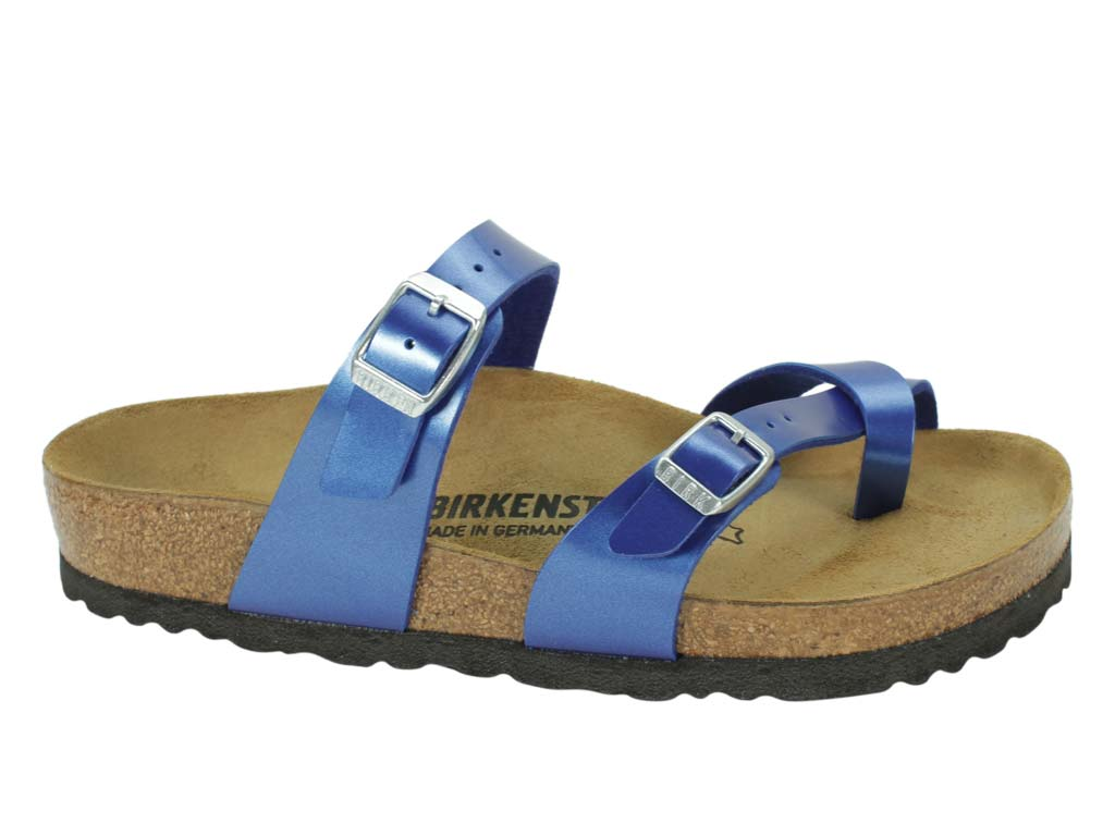 Birkenstock Sandal Mayari Electric Blue side view