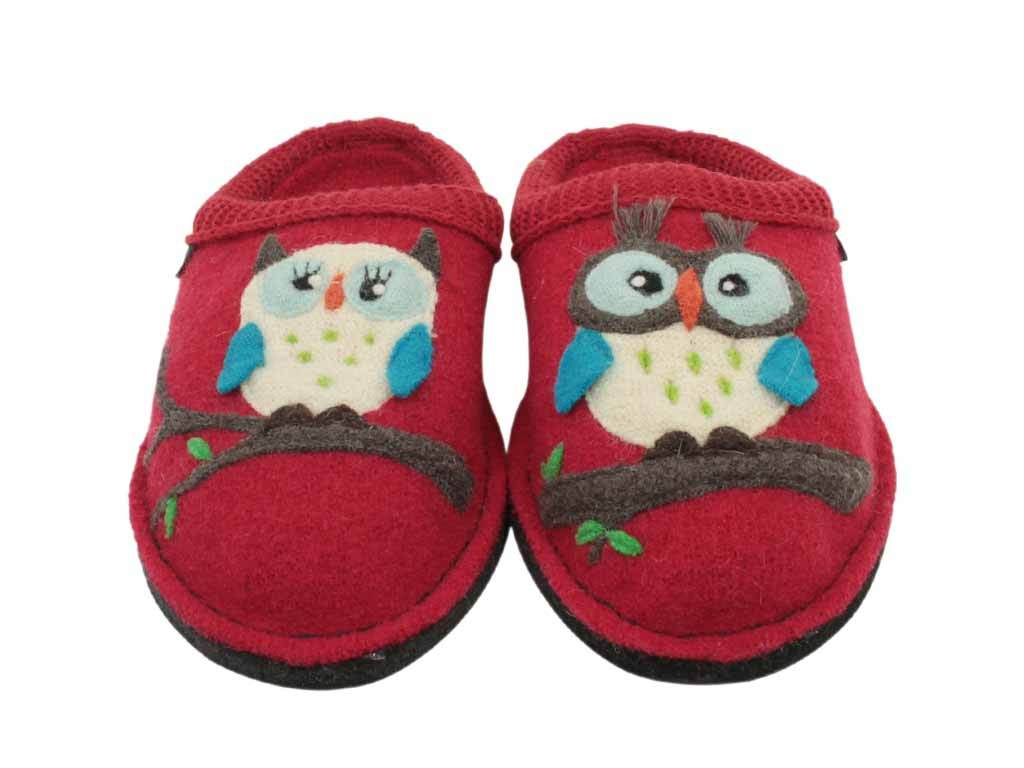 Haflinger Slippers Flair Olivia Red