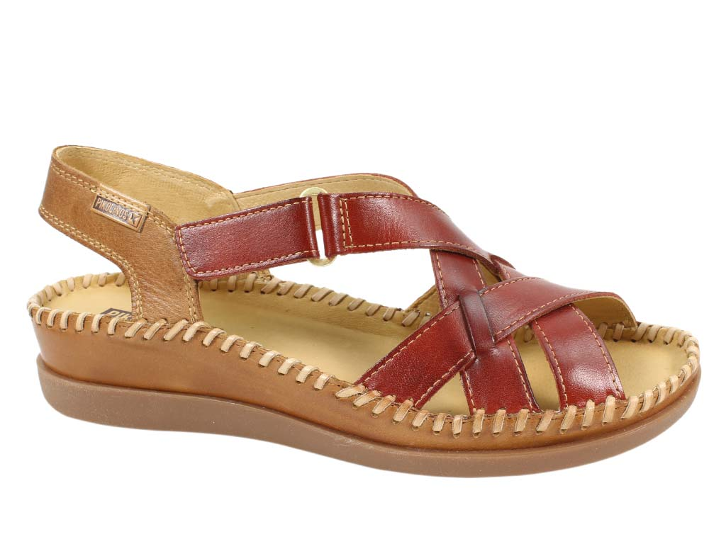 Pikolinos Sandals Cadaques Sandia side view