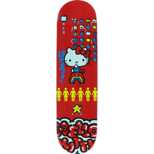 "Girl Wilson Hello Kitty 45th Anniversary 7.87"" Deck + FREE GRIP"