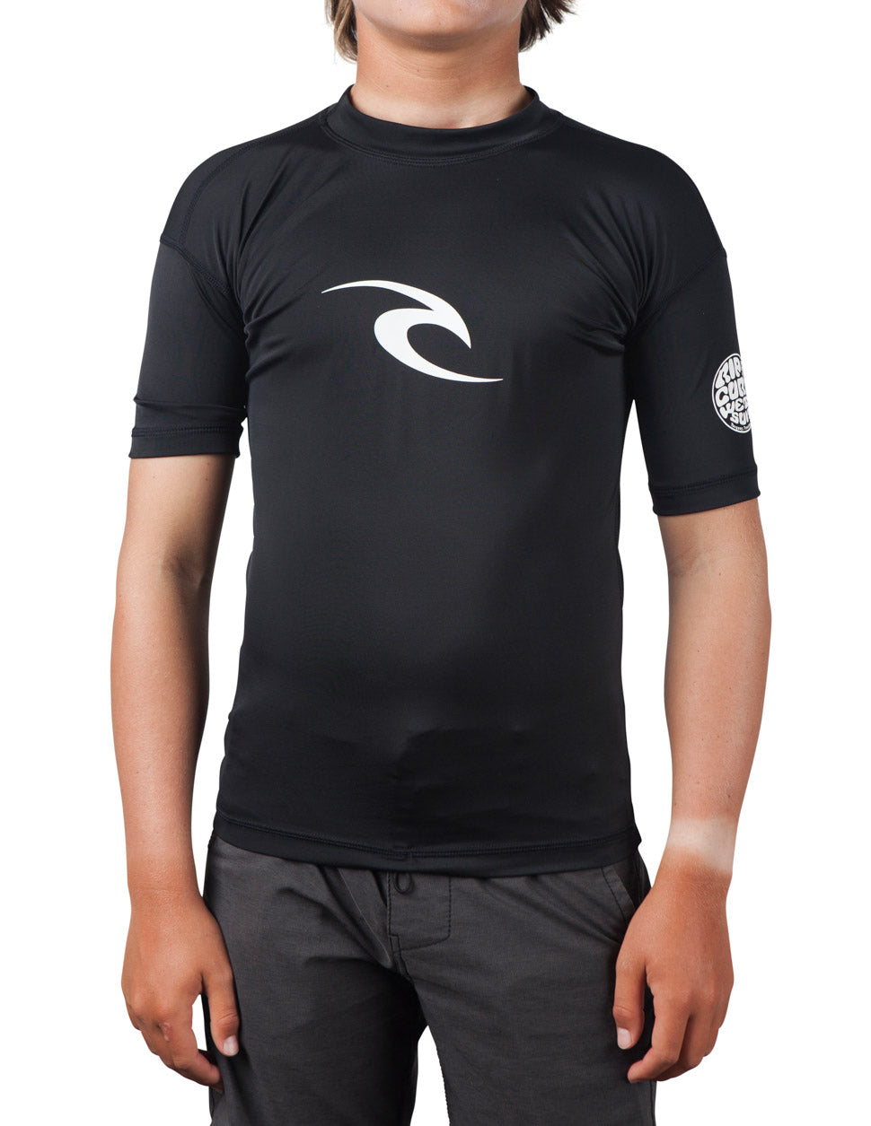 Rip Curl Boy's Corpo S/S Rash Guard