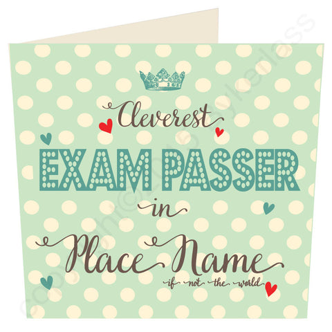 Cleverest Exam Passer in...... Card MINT (MB37) Exams