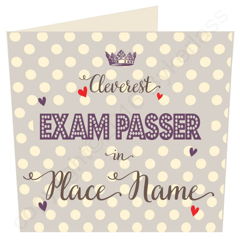 Cleverest Exam Passer in......Taupe Card (MB36) Exams