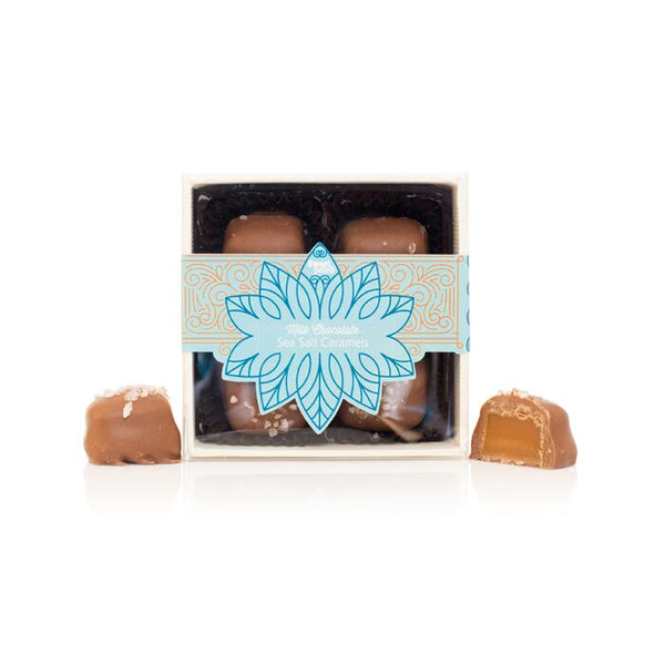 Milk Chocolate Sea Salt Caramels