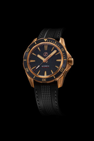 Swordfish Bronze 300m Diver Seiko NH35 'Black Sand' Launch Special