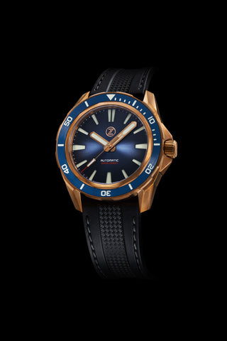 Swordfish Bronze 300m Diver Seiko NH35 'Cobalt Blue' Launch Special