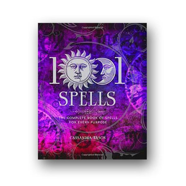 1001 Spells For Every Purpose By Cassandra Eason - The Moonlight Shop