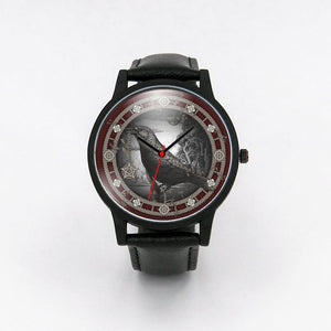 Crow Pentacle Watch - The Moonlight Shop