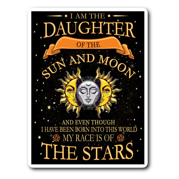 Daughter Of The Sun And Moon Sticker - The Moonlight Shop