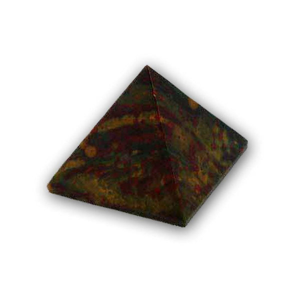 Fire Bloodstone Pyramid - The Moonlight Shop
