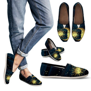Sun and Moon Handcrafted Casual Shoes - The Moonlight Shop