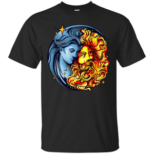 Sun God And Moon Goddess Shirt - The Moonlight Shop
