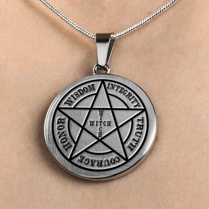 Virtues Of A Witch Necklace - The Moonlight Shop