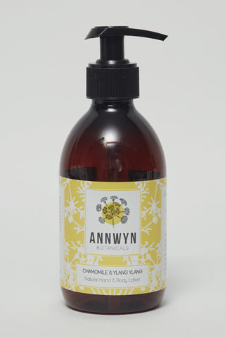 chamomile & ylang ylang natural hand & body lotion - 250ml