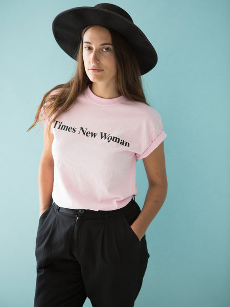 Times New Woman - Pink T-Shirt