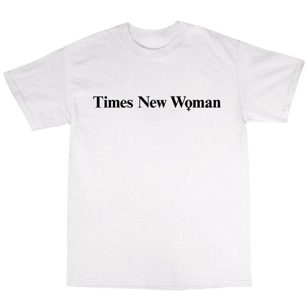 Times New Woman - White T-Shirt