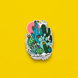 The Cactus Club Sticker