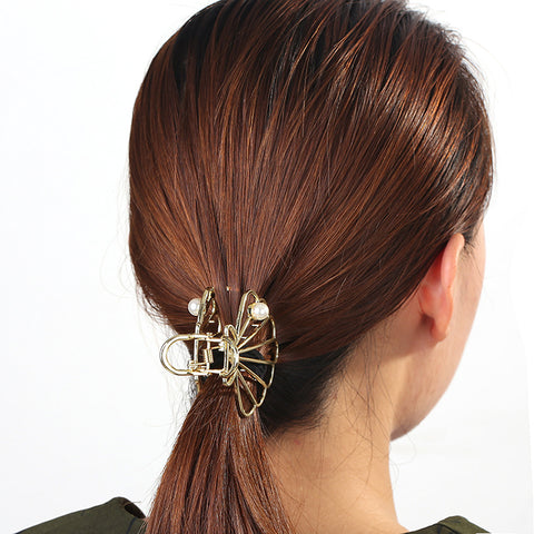 Mermaid Shell Hair Clip (Available in Gold & Rose Gold)