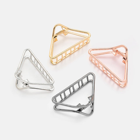 Triangle Hair Clip (Available in Gold & Rose Gold)