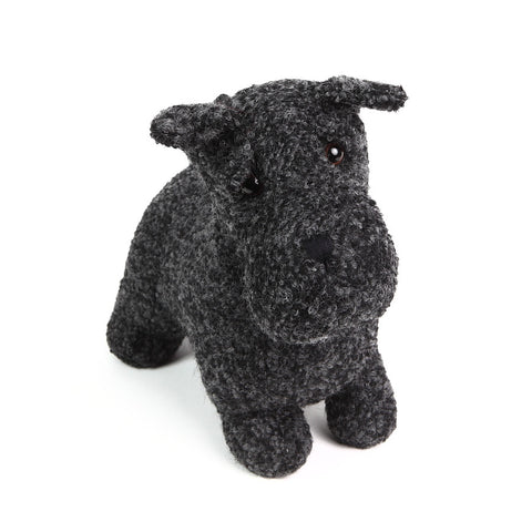 Dora Designs Black Woolen Scottie Dog Doorstop