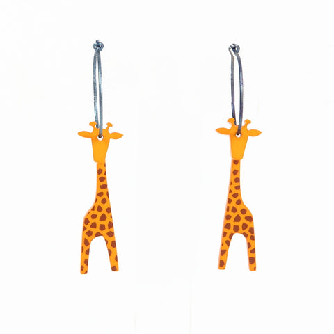 Lene Lundberg K-Form Giraffe Earrings